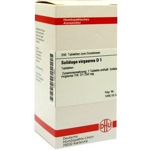 SOLIDAGO VIRGAUREA D 1 Tabletten