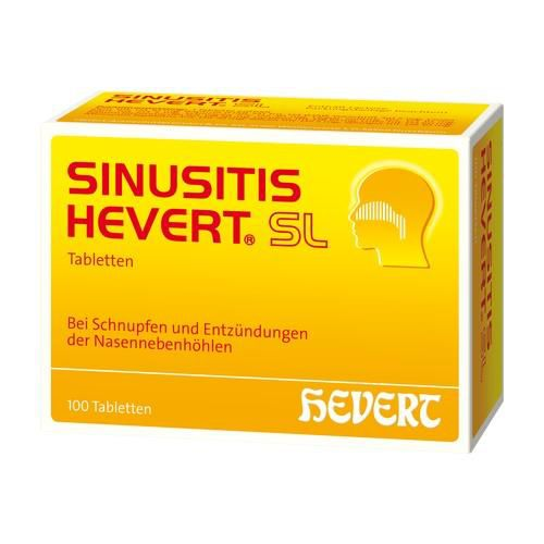 SINUSITIS HEVERT SL Tabletten