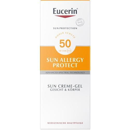 eucerin sun allergie gel 50 150 ml bei apo in. Black Bedroom Furniture Sets. Home Design Ideas